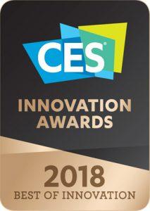 CES award 2018