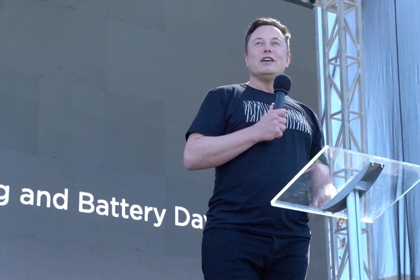 Elon Musk Battery Day