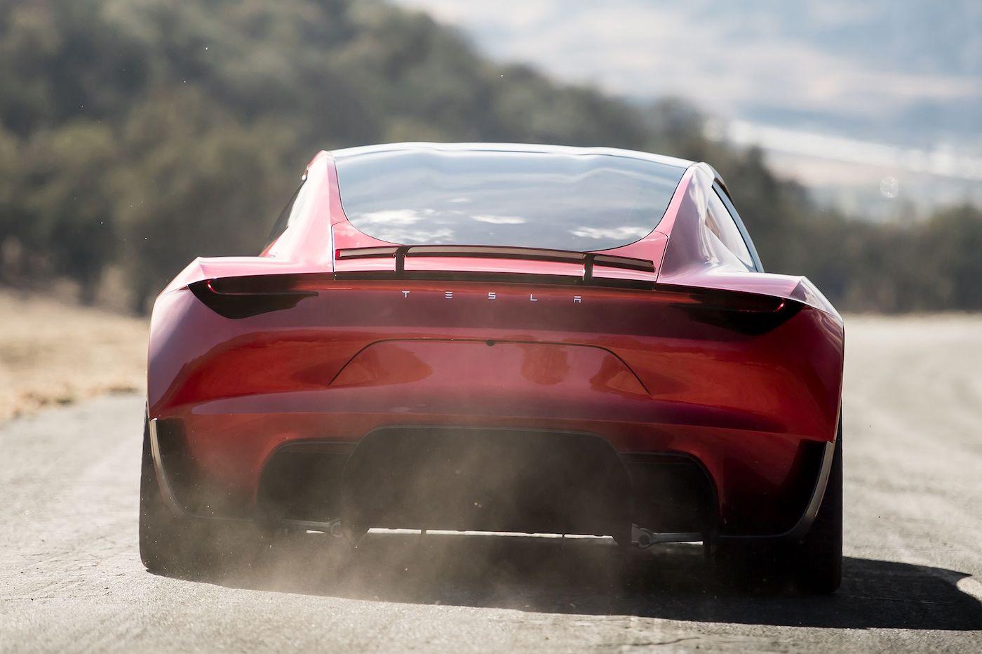 tesla roadster acceleration
